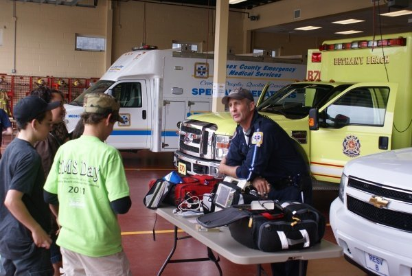EMS Day - Bethan Beach Volunteer Fire Station